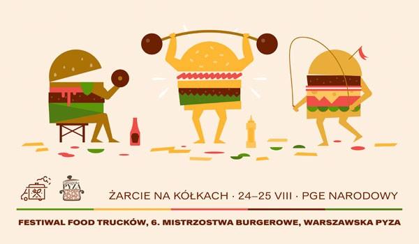 Going. | Żarcie na Kółkach: Festiwal Food Trucków / 6. Mistrzostwa Burgerowe / Warszawska Pyza - PGE Narodowy