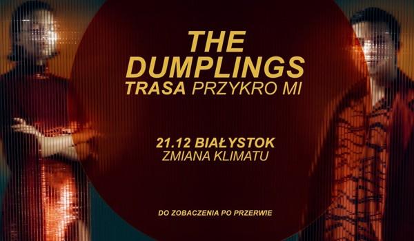 Going. | The Dumplings w Zmiane Klimatu / trasa PRZYKRO MI - Klub Zmiana Klimatu