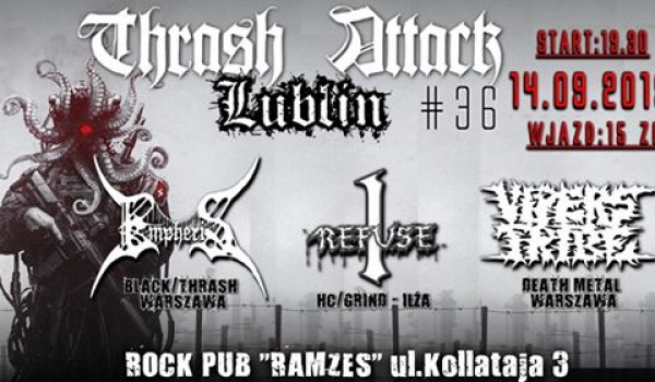 Going. | Thrash Attack Lublin # 36 - Cafe Ramzes