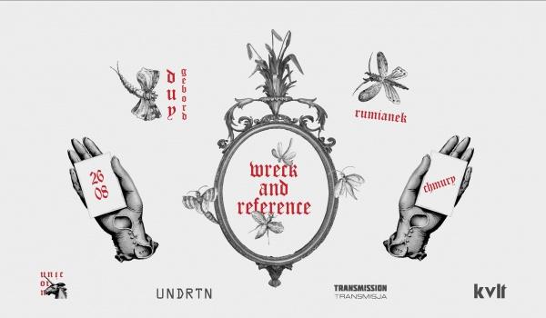 Going. | Wreck and Reference | Warszawa - Klubokawiarnia Chmury