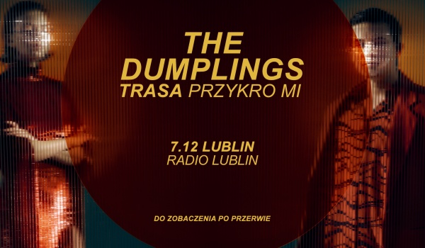 Going. | The Dumplings - Lublin | Trasa Przykro Mi [SOLD OUT] - Radio Lublin