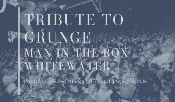 Going. | Man in the BOX & Whitewater - Klub Pod Minogą