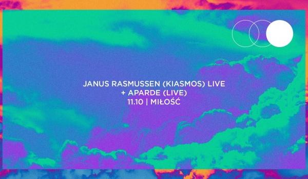 Going.   Janus Rasmussen (Kiasmos) / Aparde - Miłość / Patio Kredytowa 9