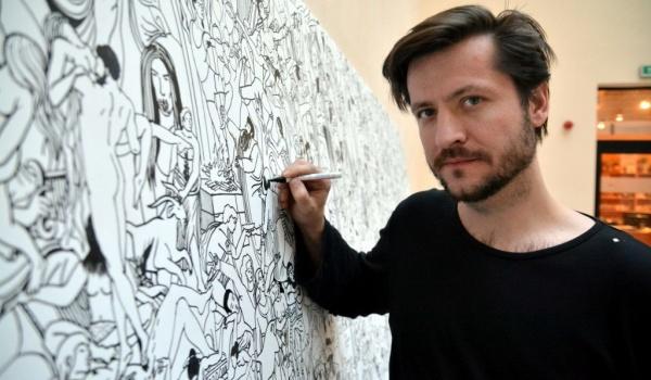 Going. | Mariusz Tarkawian - prezentacja prac graficznych w ramach festiwalu Przeźrocza - MÓZG