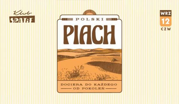 Going. | POLSKI PIACH •Zakrocki / Mełech / Falkowski - Klub SPATiF