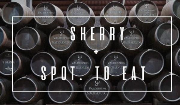 Going.   Przekrojowa degustacja sherry - SPOT.