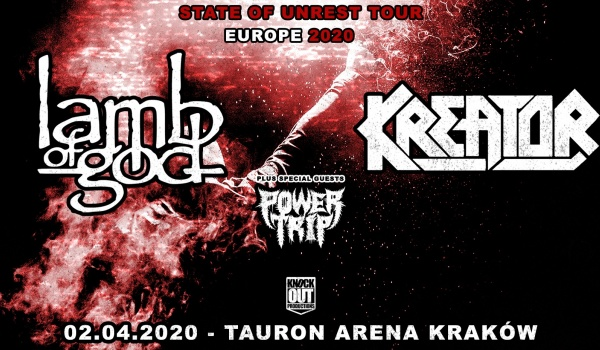 Going. | Lamb Of God, Kreator, Power Trip | Kraków - TAURON Arena Kraków