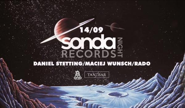 Going.   Sonda Records NIght: Stetting / Wunsch / Rado - TANZ BAR
