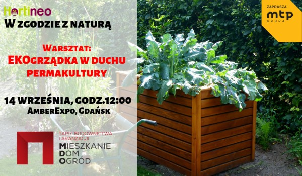 Going. | W zgodzie z naturą – EKOgrządka - warsztaty ogrodnicze - AmberExpo