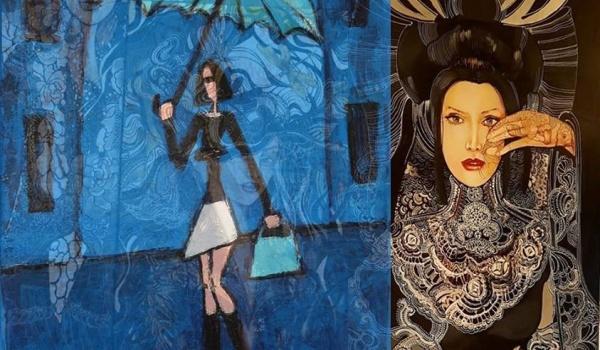 Going. | Duety : Maggie Piu / Małgorzata Stępniak - Galeria Triada Szymon Romanowski