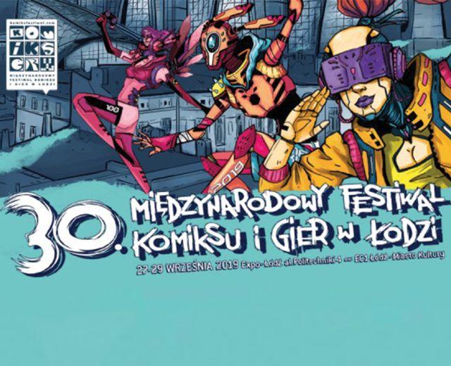 Going. | 30. Międzynarodowy Festiwal Komiksu i Gier