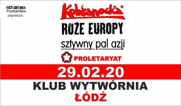 Going. | Kobranocka, Sztywny Pal Azji, Róże Europy, Proletaryat - Klub Wytwórnia