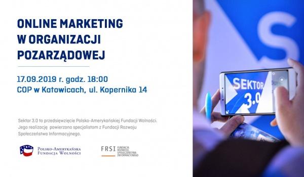 Going. | Online marketing w organizacji pozarządowej - Centrum Organizacji Pozarządowych - Katowice