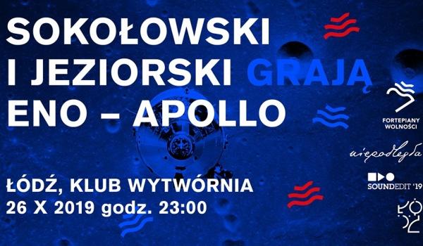 Going. | Fortepiany Wolności - Sokołowski i Jeziorski grają Eno - Klub Wytwórnia