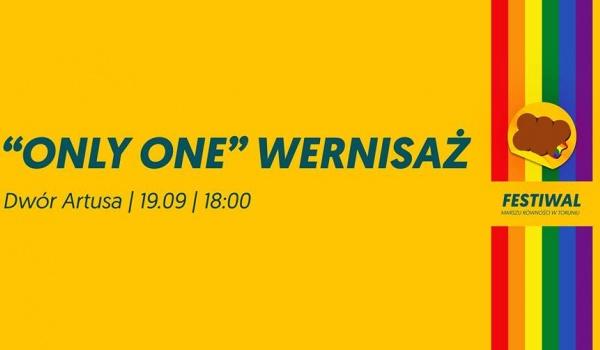 Only One wernisaż | Festiwal Marszu Równości w Toruniu