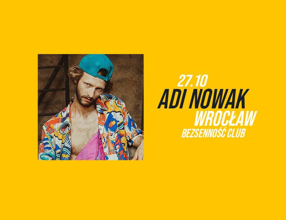 Adi Nowak we Wrocławiu
