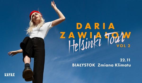 Going. | SOLD OUT / Daria Zawiałow - Helsinki Tour vol. 2 | Białystok - Klub Zmiana Klimatu