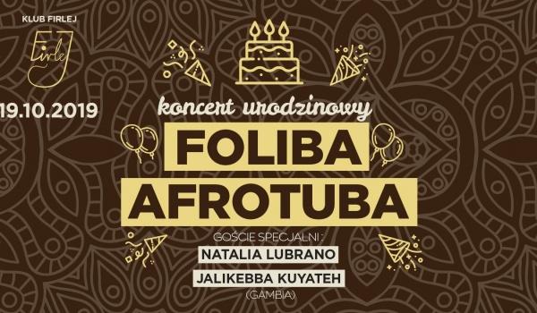 Going.   Koncert Urodzinowy FOLIBA / AfroTuba - Klub Firlej