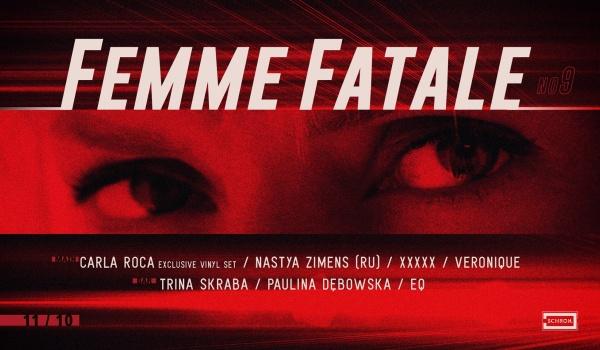 Going. | Femme Fatale no.9: Carla Roca vinyl set, Nastya Zimens - Schron