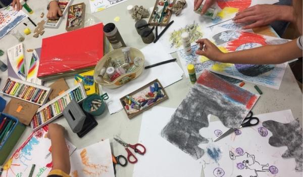 Going. | Figle i wybryki w krainie plastyki - Wrocławskie Centrum Twórczości Dziecka