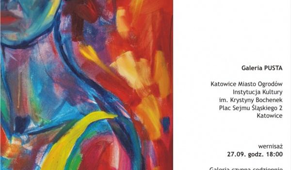 Going. | Patrząc - wystawa malarstwa i grafiki | Magdalena Reiber - Jazz Club Hipnoza