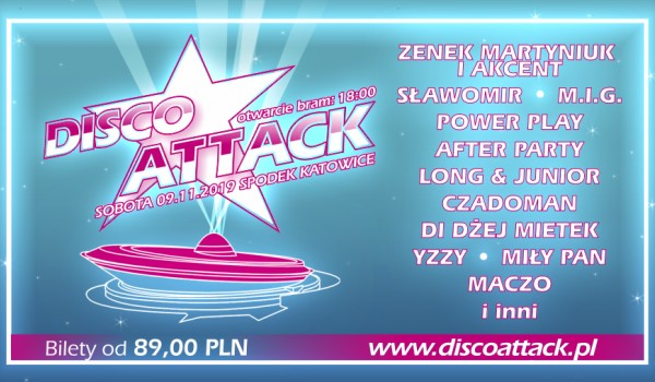 Going. | Disco Attack V edycja - Spodek