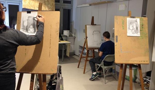 Going. | Otwarta pracownia artystyczna - Oliwski Ratusz Kultury