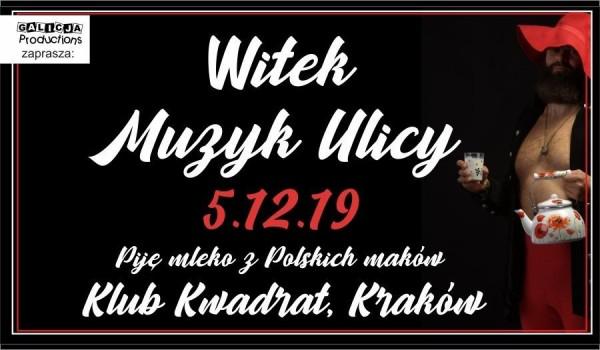 Going. | Witek Muzyk Ulicy - Klub Kwadrat