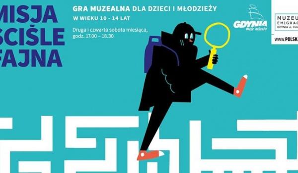 Going. | Misja ściśle fajna. Gra muzealna dla dzieci i młodzieży - Muzeum Emigracji w Gdyni