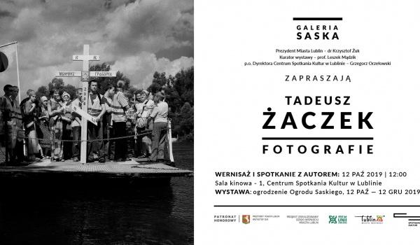 Going. | Wystawa Tadeusza Żaczka - wernisaż i spotkanie z autorem - Centrum Spotkania Kultur w Lublinie