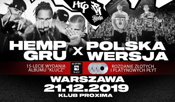 Going. | Polska Wersja + Hemp Gru / Warszawa Proxima - Proxima