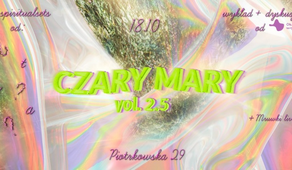 Going. | CZARY MARY vol. 2.5 ⟳ spiritual edition - P29