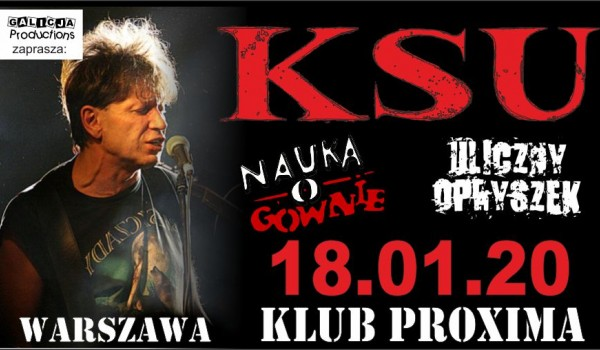 Going. | KSU, Nauka o Gównie [SOLD OUT] - Proxima