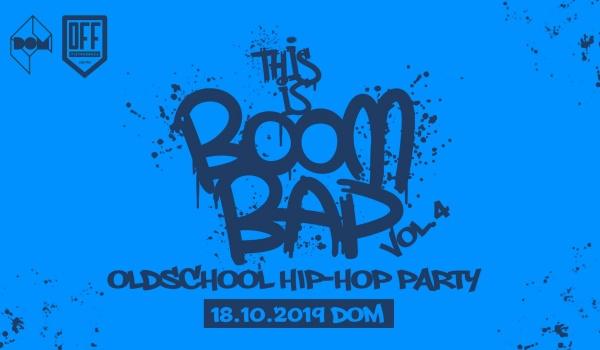 Going. | This is Boom Bap vol.4 - Oldschool Hip Hop Party - DOM Łódź