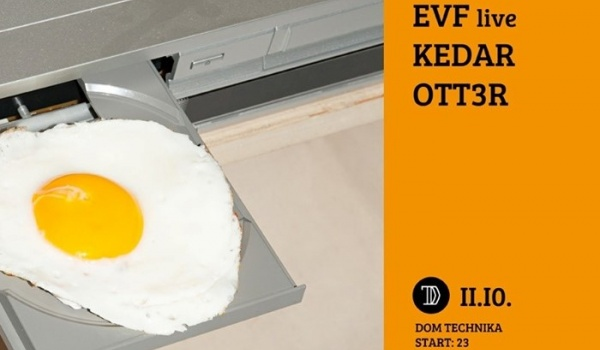 Going. | DT pres. EVF live, Kedar, Ott3r - Dom Technika