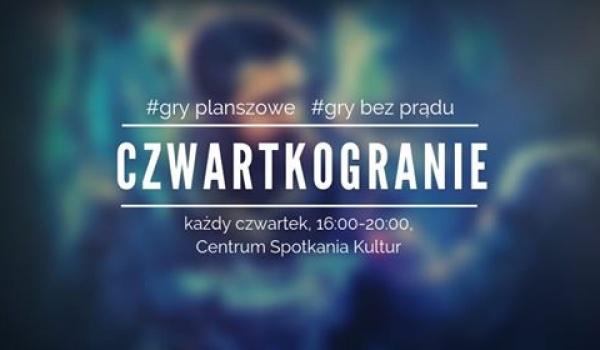 Going. | Czwartkogranie - cykliczne spotkanie z grami bez prądu - Centrum Spotkania Kultur w Lublinie