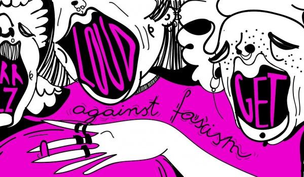 Going. | Mocno taneczne Grrrlz GET LOUD * against fascism - Galeria Labirynt Lublin