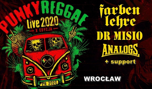 Going. | Punky Reggae live 2020 | FARBEN LEHRE, ANALOGS, DR MISIO - Sala Gotycka w Starym Klasztorze