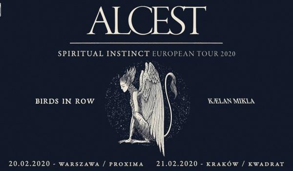 Going. | Alcest + Birds In Row, Kaelan Mikla - Klub Kwadrat