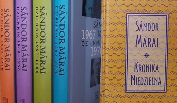 """Going.   Pisarz i piszący. """"Kronika Niedzielna"""" Sándora Máraiego - De Revolutionibus   Books&Cafe"""