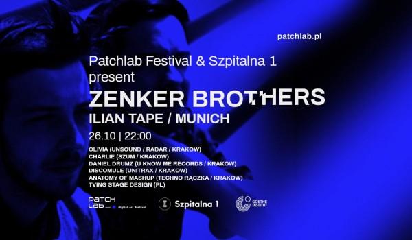 Going. | Patchlab Festival & Szpitalna1 present Zenker Brothers - Szpitalna 1