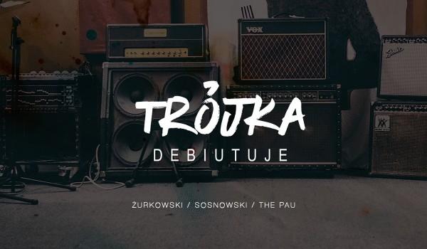 Going. | Trójka Debiutuje: Sosnowski/Żurkowski/The Pau - Klub Zmiana Klimatu