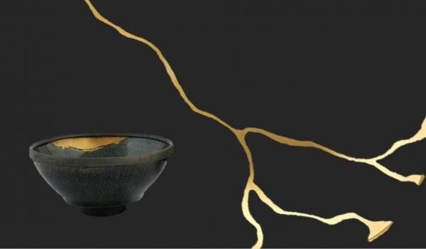 Going. | Na Drodze Herbaty: kintsugi - blizna pokryta złotem - Muzeum Sztuk Użytkowych - Oddział Muzeum Narodowego