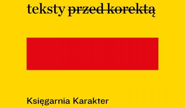 Going.   Teksty przed korektą: Aleksandra Lipczak - Księgarnia Karakter