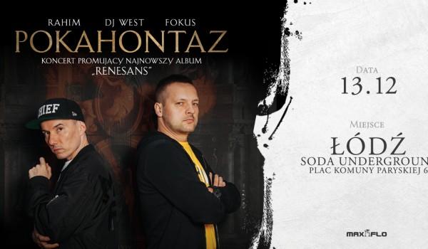 Going. | Pokahontaz | Łódź - SODA Underground Stage