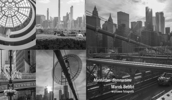 Going. | Wernisaż fotografii - Marek Bebłot - Manhattan' Summer - Pałac Schoena - Muzeum w Sosnowcu