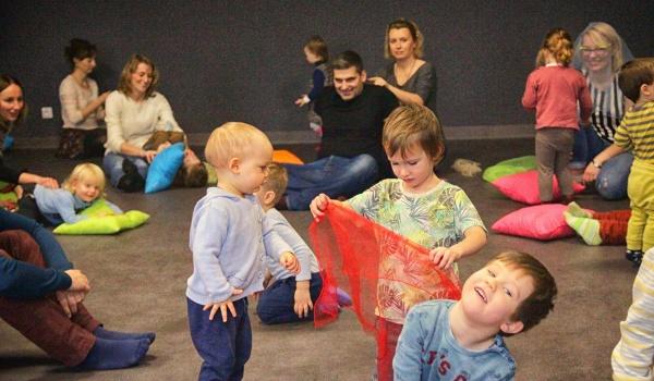 Going.   Muzyczna Kraina - zajęcia dla dzieci w wieku 0-2 lat - Staromiejskie Centrum Kultury Młodzieży