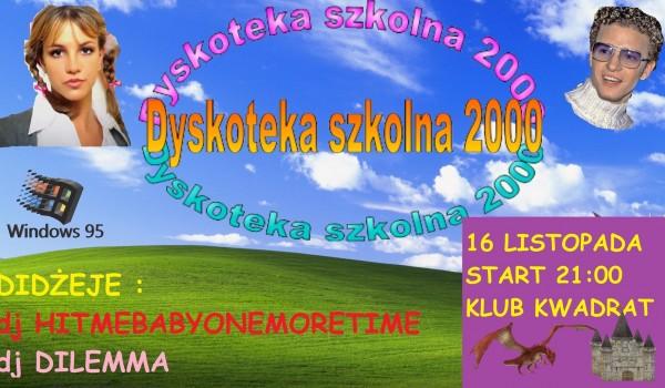 Going. | Dyskoteka Szkolna 2000 - Klub Kwadrat