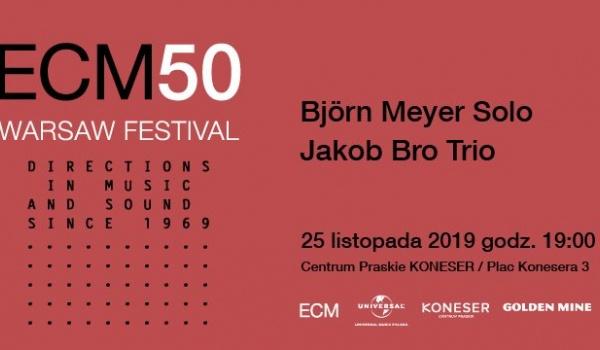 Going. | ECM50 Warsaw Festival - Björn Meyer Solo / Jakob Bro Trio - Centrum Praskie Koneser