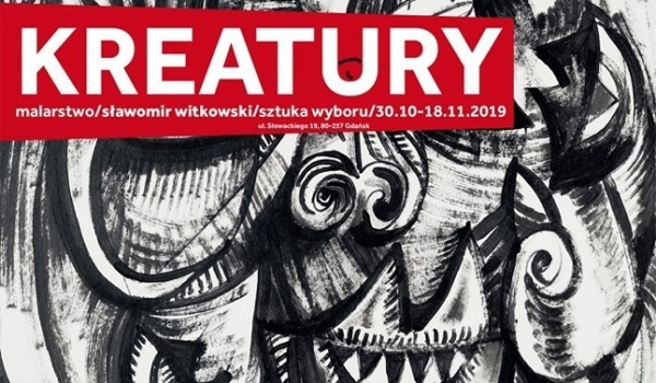 Going. | Kreatury - Malarstwo - Sławomir Witkowski - Sztuka Wyboru